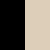 Black/beige swatch