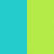 Turquoise/lime