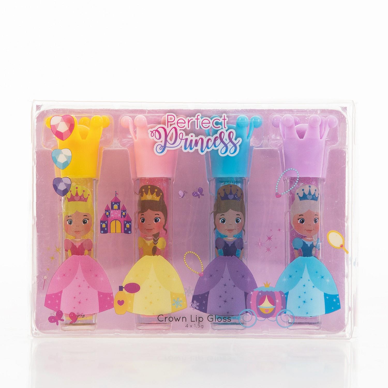 Gift Ideas Perfect Princess Lip Gloss 4 Pack