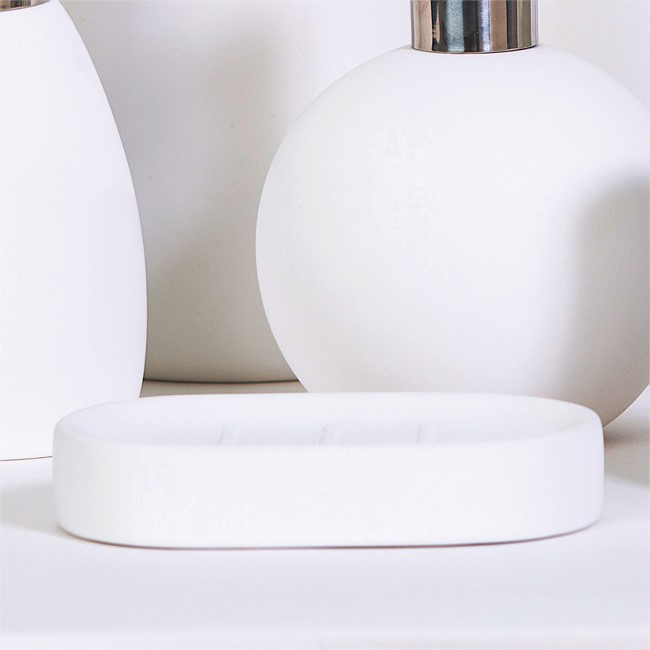 Avalon White Soap Dish
