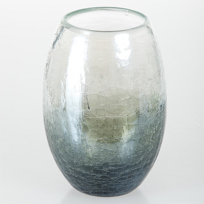 Design Republique Glass Black Vase
