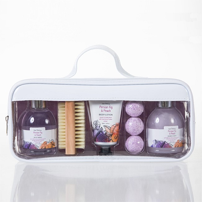The Source Pamper Set In Cosmetic Case 5 Pack
