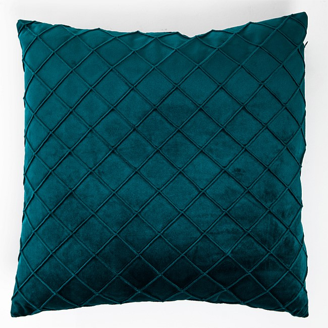 Design Republique Venus Velvet Square Textured Cushion