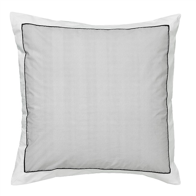 Logan & Mason Essex Pewter European Pillowcase