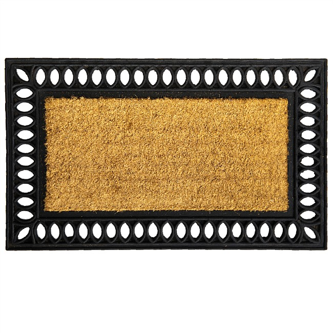 Home Co. Ash Patterned Edge Mat