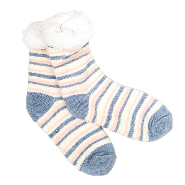 bb&b Sleep Bed Socks Fleece Stripes