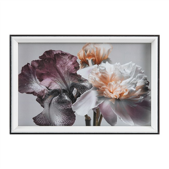 Solace Willow Mixed Florals Wall Art