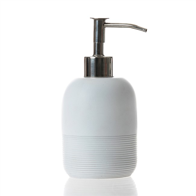 Home Co. Blythe Polyresin Soap Dispenser