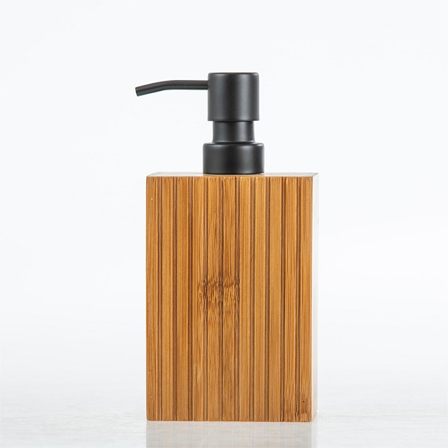 Home Co. Bamboo Soap Dispenser