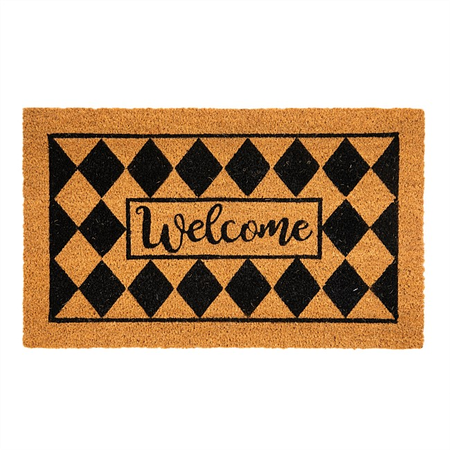 Home Co. Russ Welcome Coir Mat