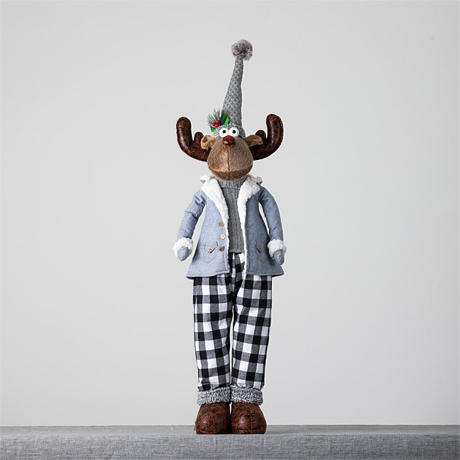 Christmas Wishes Mr Moose Extendable Legs 118cm
