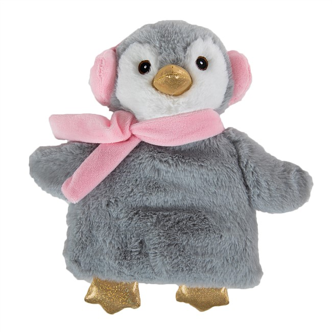 Home Chic Warm Hugs Wheat Pack Penguin