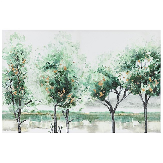 Solace Avenue Of Trees Wall Art