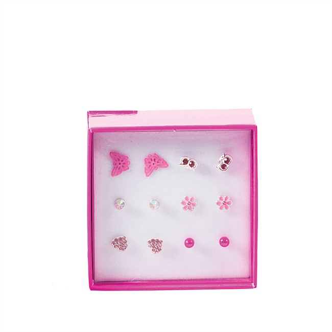 Butterfly 6pc Earring Set