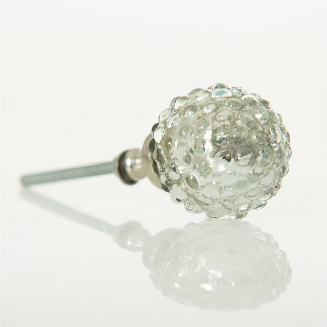 Drawer Handle - Glass Bubble