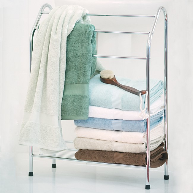 Home Essentials H-Shape Towel Stand