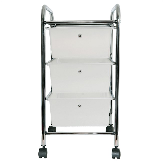 Home Essentials 3 Drawer Trolley