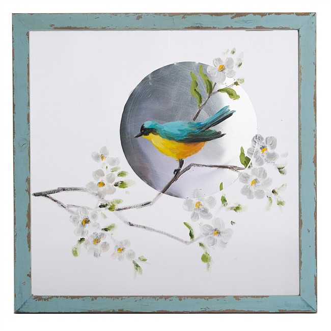 Blue Bird Wall Art