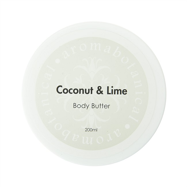 Aromabotanical 200ml Body Butter - Coconut & Lime