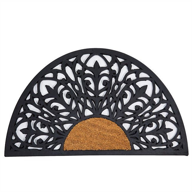 Home Co. Half Circle Coir Mat