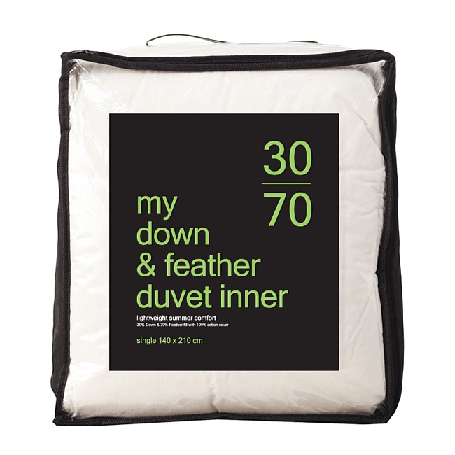 My 30/70 Feather & Down Duvet Inner