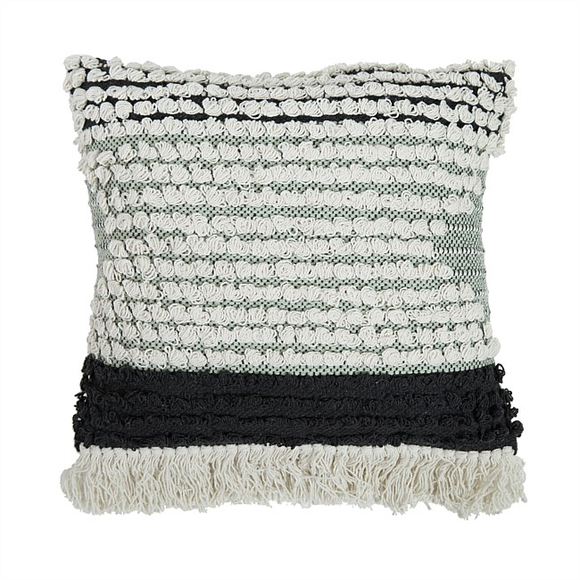 Design Republique Kenya Knotted Cushion