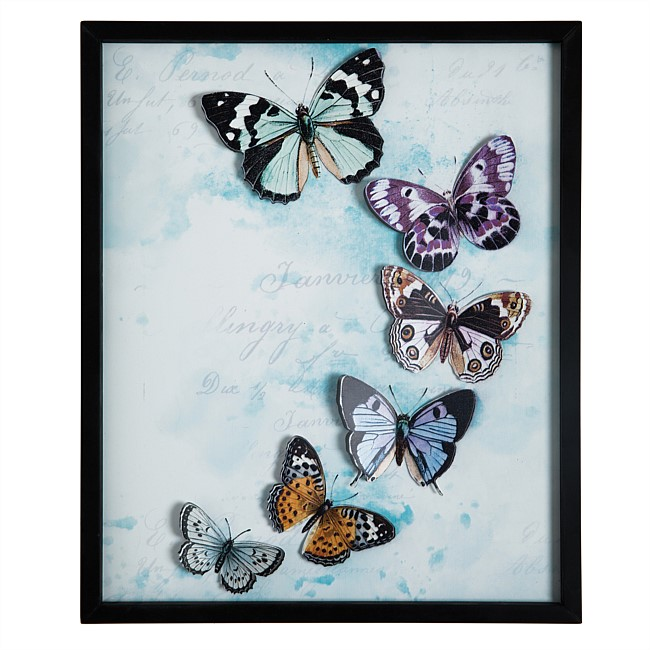 Solace Amelia Butterfly Wall Art
