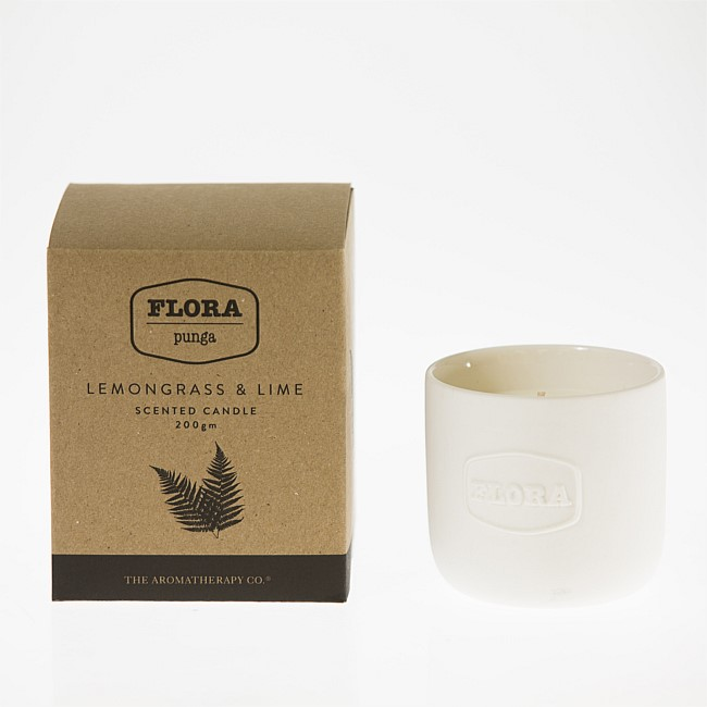 Flora Lemongrass & Lime 200g Candle