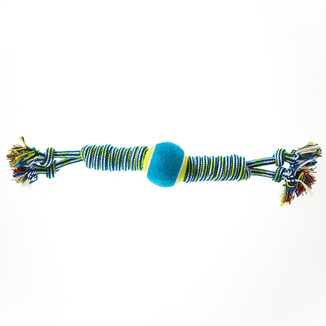 Blue Twisted Rope Toy