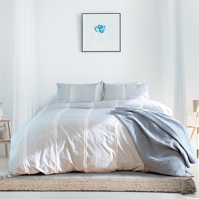 Ador Portsea Yarn Dyed Lurex Duvet Cover Set