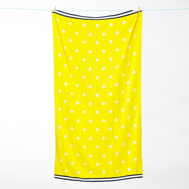 Seaside Supplies Polkadot Beach Towel