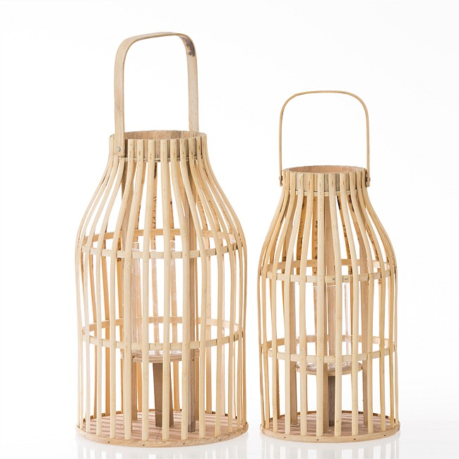 Design Republique Leon Large Bamboo Lantern