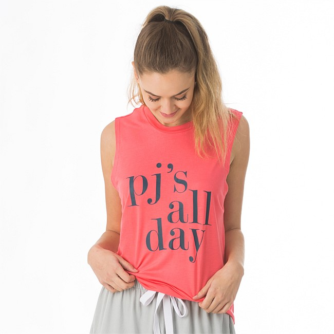 BBB Sleep PJ's All Day Comfy Tank Top