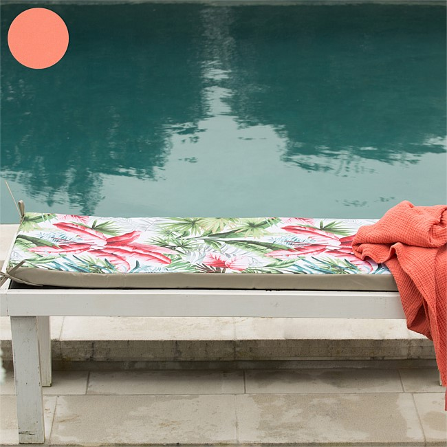 Seaside Supplies Papamoa Coral Bench Seat Pad