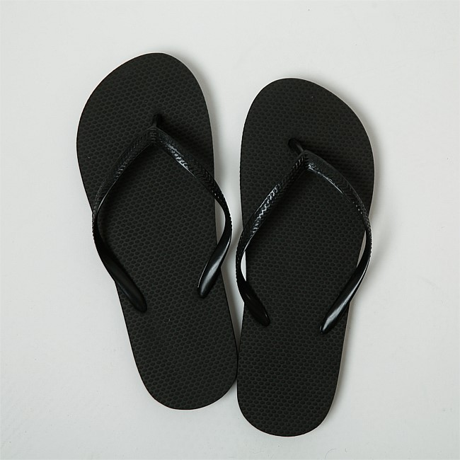 Seaside Supplies Black Jandals