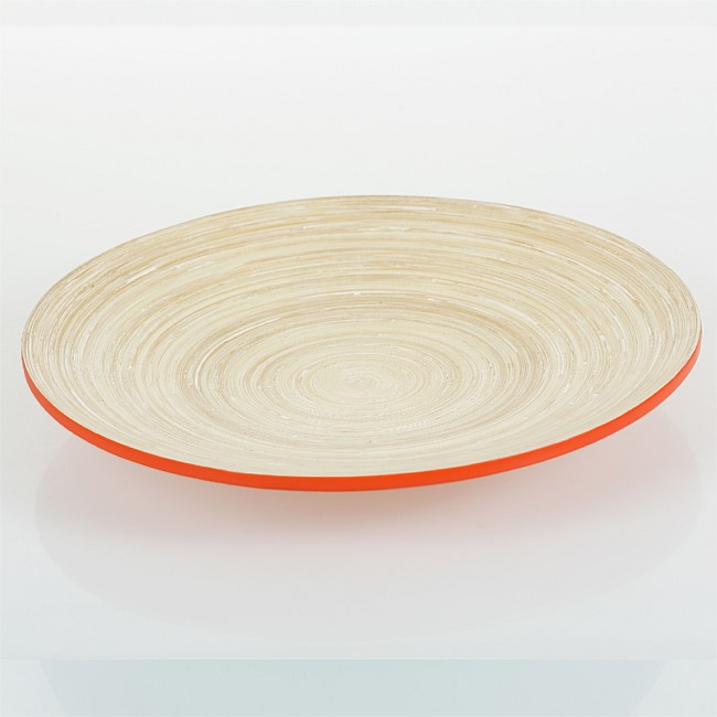 Home Co. Bamboo Round Serving Platter