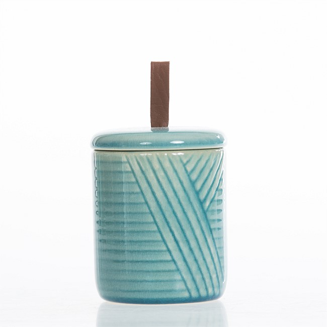 Home Co. Gia Ceramic Cotton Jar