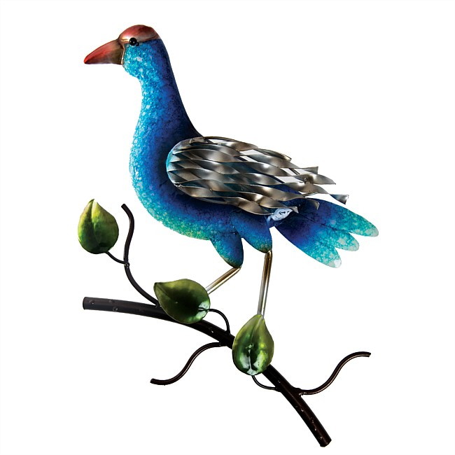 Pukeko On Branch Wall Art
