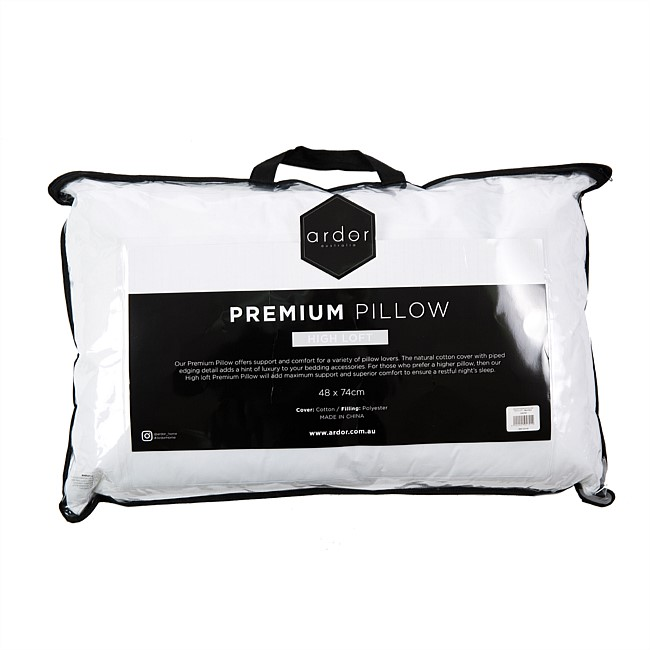 Ardor Premium Pillow High Loft