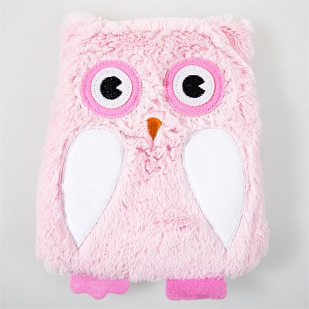 Hush For Kids Wheat/Lavender Pillow Owl