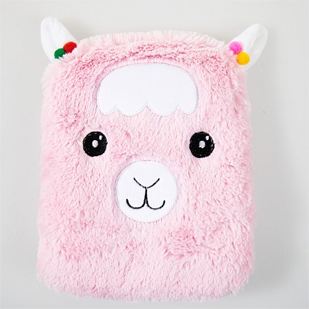 Hush For Kids Wheat/Lavender Pillow Pink Llama
