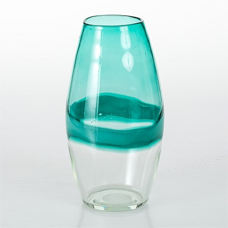 Design Republique Glass Large Vase Green