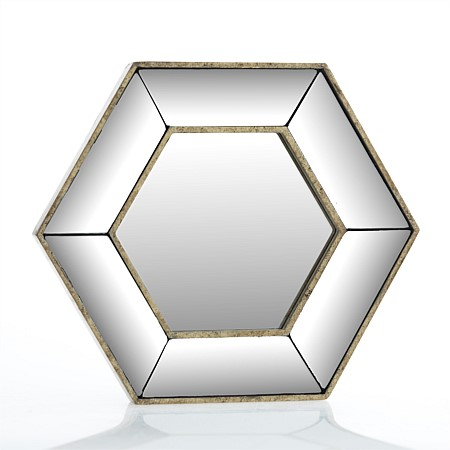 Design Republique Morgan Hexagon Mirror