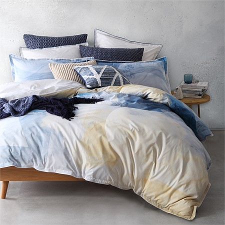 Oki  Navy Duvet Cover Sets & European Pillowcases