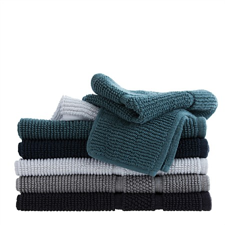 Home Co. Mineo Cotton Handloom Bathmats