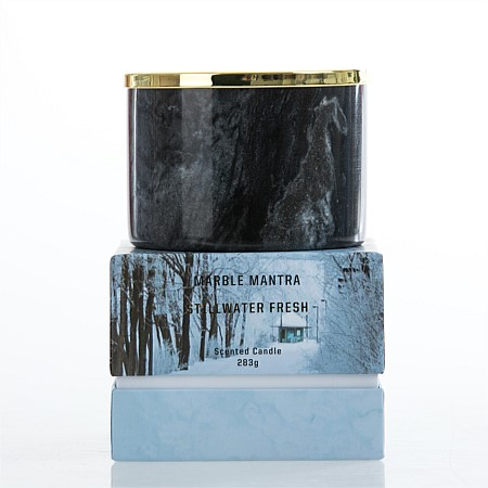 Marble Mantra 2 Wick 283g Candles