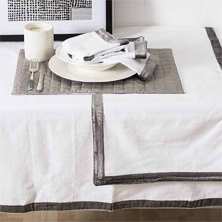 Gather Hilton Tablecloth