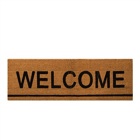 Home Co. Rex Welcome Sliding Door Coir Mat