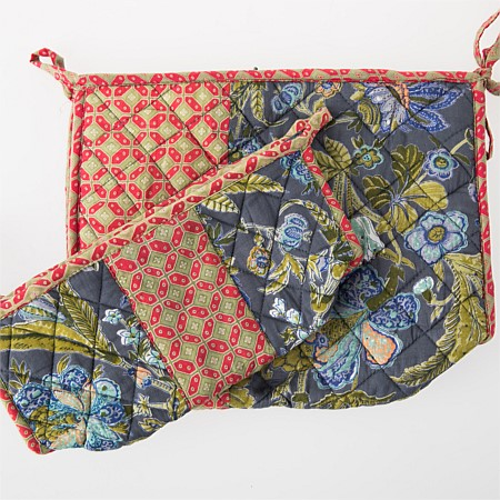 Design Republique Oriental Floral Patchwork Bag