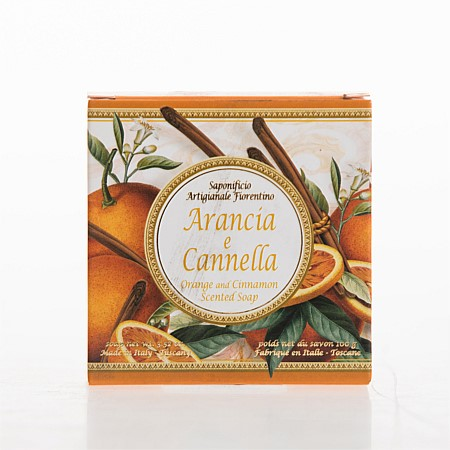 Fiorentino Orange and Cinnamon Individual Soap